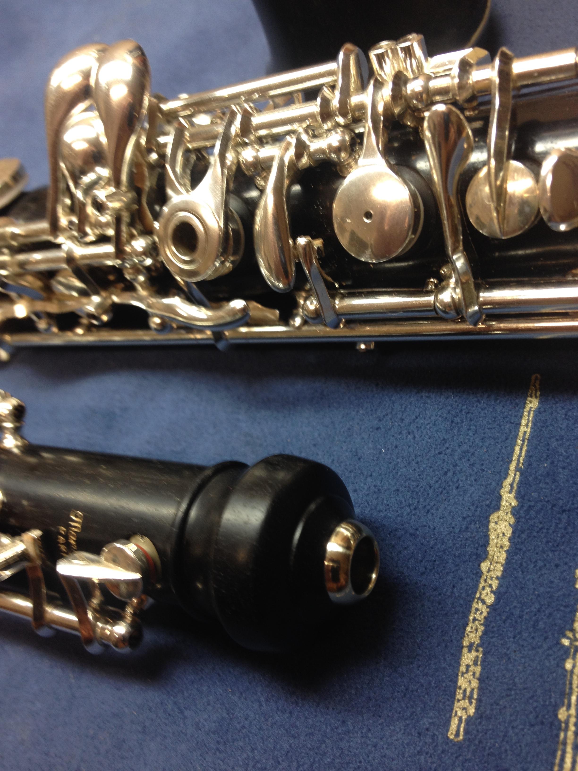 Oboe nach der Generalüberholung